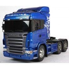 Caminhão RC Scala 1/14 Scania R620 Highline Blue Edition EP