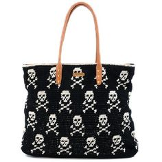 East-West Skull Tote ($250) ❤ liked on Polyvore featuring bags, handbags, tote bags, purses, accessories, bolsas, bolsos, rebecca minkoff handbags, skull tote and lightweight tote bag