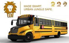 The All-New Lion 360 Type C School Bus