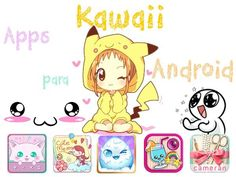 Apps Kawaii para Android #kawaii #apps #appsandroid #android #cute