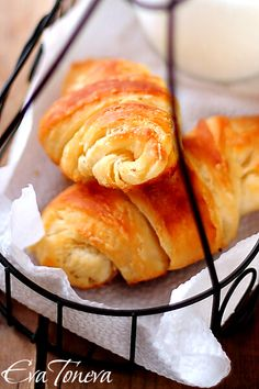 *** Croissants - Oh So Yummy! - Cheeseless