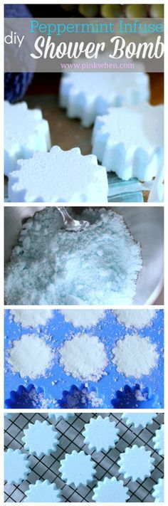 Essential oil shower steamers and melts-- No time for baths, but love the aromatherapy benefits of bath bombs? Try shower melts! 15 ideas for essential oil blends to use in shower steamers to wake up amp; feel energized, to calm and relax, to Lush, Bath Benefits, Aromatherapy Benefits, Shower Bombs, Shower Steamers, Bath Melts, Diy Shower, Bath Shower, Shower Tiles
