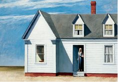 Edward Hopper (1882-1967), High Noon, 1949.
