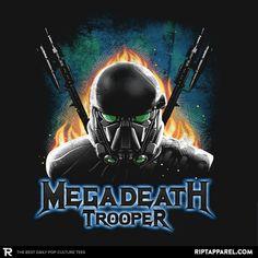 MegaDeath Trooper T-Shirt - Star Wars T-Shirt is $11 today at Ript!