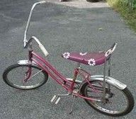 Banana seats.......you had one if you were cool