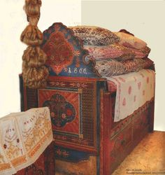Book 100 PIX Transylvanian Folk Furniture Painted Romanian German Saxon Hungary | eBay
