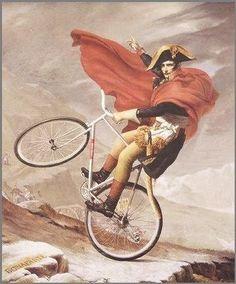 napoleon en bicicleta - Buscar con Google