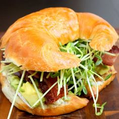 Bacon Brie Avocado Sandwich