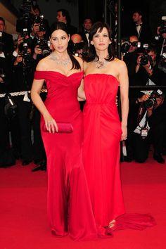 Monica Belluci and Sophie Marceau