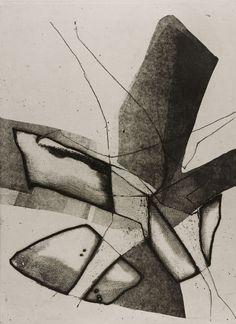 """Untitled"", 1965, Enrique Zanartu, Chilean (b. 1921), intaglio, 18 x 24 in. Gift of William Fett, 1977. 1977.2433"