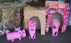 Knutselen 3d: De drie biggetjes Traditional Stories, Alphabet, Wolf, Three Little Pigs, Preschool Books, Farm Theme, Working With Children, Nursery Rhymes, 3 D