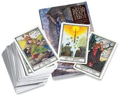- Druidcraft Tarot. Druidcraft Tarot At a time when we seek a closer connection with the natural world, this beautiful deck invites us to celebrate the earth and the rhythm of her seasons. Combining two streams of the Celtic tradition - Wicca and Druidry - this is a tarot of extraordinary depth and relevance. Use it as a gateway to your inner spiritual world for insight and inspiration. 78 beautifully illustrated cards, and 192-page guidebook by Philip Carr-Gomm.