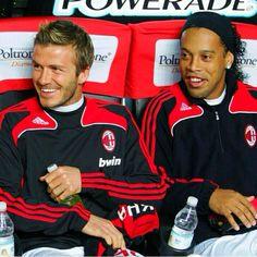 Beckham and Ronaldinho