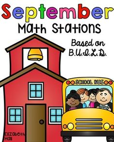 """Here are some great math activities to use this time of the year for math stations or tubs. They can all be used as extra practice. If you would like to see more of the unit, click on the """"preview"""" button above. Build is a concept that follows along the same lines as Daily 5, but for math.B-Buddy GamesU- Using ManipulativesI- Independent ReadingL- Learning About NumbersD- Doing Math I have 2 (or more) activities (some differentiated) for each of the acronyms."""