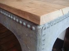 Image result for upcycled water tank table