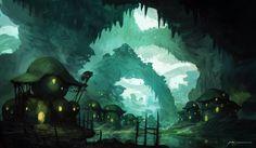 Swamp Wasteland by JJcanvas.deviantart.com on @DeviantArt