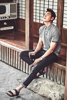 """Kim Woo Bin for Merrell Summer 2016 """