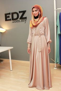 Kate #Hijab Dress for bridesmaids or any special occasions!