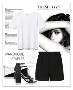 """""""Wardrobe staple; tshirt"""" by lilieshomeandgarden ❤ liked on Polyvore featuring Marni, Chanel, Yves Saint Laurent, Alexander Wang, WardrobeStaple and Tshirt"""