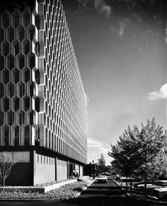 mid century sunscreen | Mid Century Decorative Concrete Screen Block | Modern Design