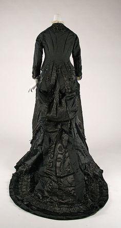 Mourning Dress, back