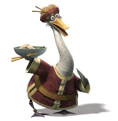 Mr. Ping, my favorite character from Kung Fu Panda. :')