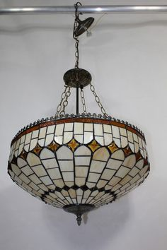 #Buntglas#Tiffany#Lampe Elegant, Ceiling Lights, Pendant, Design, Home Decor, Stained Glass, Deko, Classy, Ceiling Lamps