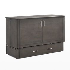 Sagebrush Queen Murphy Cabinet Bed by Night&Day Furniture