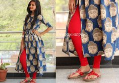 Printed KurtiPrice 2900 Rs (set includes leggings)To buy this outfit drop us an email to varunigopen@gmail.comwhatsapp 9849125889 19 January 2017