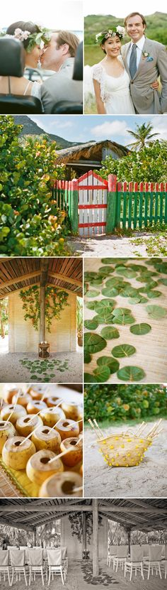 St. Barthes Wedding Part 3 designed by Lisa Vorce & Mindy Rice, Photos by Aaron Delesie