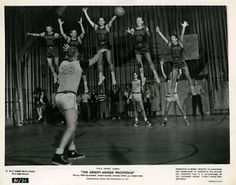 Absent-Minded-Professor-1961-Original-Disney-8x10-Photo-Still-Basketball-Game