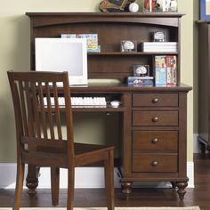 Gothic Cabinet Craft - Olympic Desk, Hutch