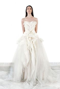 High Fashion | Bridal Style | Wedding Ideas: Amazing detailed Krikor Jabotian wedding dress