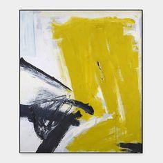 Kline: Zinc Yellow Framed Print | MoMA