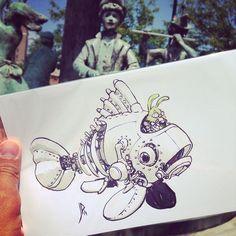 THE 2014 JAKE PARKER CROSS-COUNTRY ART DROP! - Mr Jake Parker