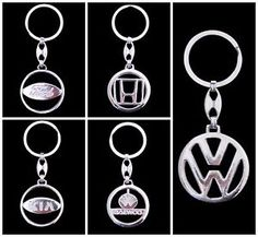 £1.99 - New-Car-Keyring-Auto-Brand-Keychain-Automotive-Keyfob-FORD-KIA-HONDA-VOLKSWAGEN