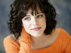 short curly hair with bangs - Bing Images