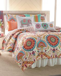 Suzani-Inspired Quilt Collection, steinmart.com