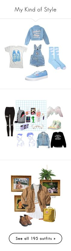 """""""My Kind of Style"""" by van-gogh-kid ❤ liked on Polyvore featuring ODD FUTURE, Vans, Retrò, Morn Creations, Topshop, adidas, art, The Ragged Priest, Underground and nymphet"""