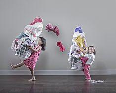 washing kids photography sisters fun