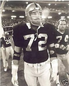 "John ""Tooz"" Matuszak DE #72 2x Super Bowl Champion (XI & XV) w/ Raiders (1976-82)"