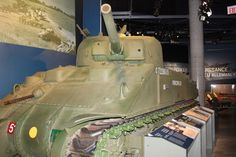Canadian M4 Sherman tank from World War Two...
