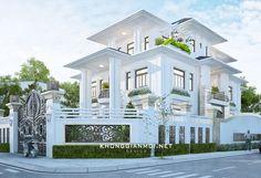 Make a nice beach house Classic House Exterior, Modern Exterior House Designs, Classic House Design, Dream House Exterior, Dream Home Design, Modern House Plans, Modern House Design, Villa Plan, Beautiful House Plans