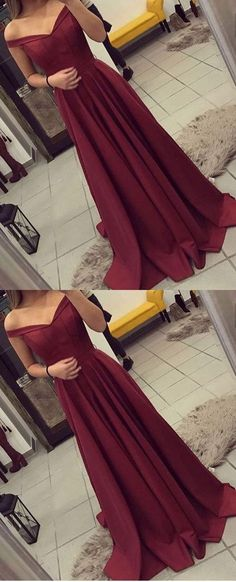 Prom Dress with Off The Shoulder Straps, Long Prom Dresses, Party Gown, Graduation Dresses, Formal Dress For Teens on Storenvy