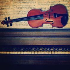 Violin and piano.