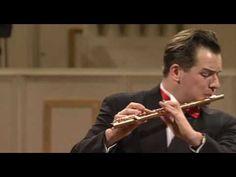 EMMANUEL PAHUD Mozart Flute Concerto in G - 3 mov. - YouTube