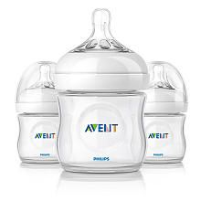 Philips AVENT 4 Ounce BPA Free Natural Polypropylene Bottles 3 Pack these bottles were my favorites.  they are easiest to clean