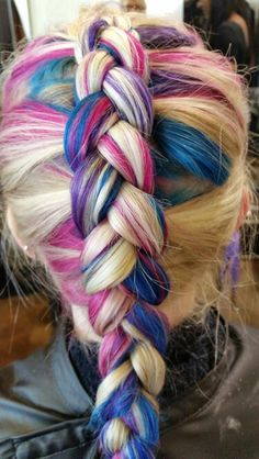 Pin by sidney nittler on hair pinterest hair extensions and my new hair its a bit bright now but it will fade to beautiful cotton cotton candy hairextension pmusecretfo Images