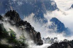Yellow Mountains, China.