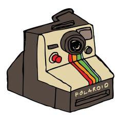 Polaroid temporary tattoo by Gumtoo.